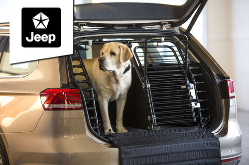 Dog gate Jeep
